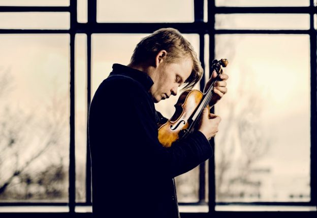 Finnish violinist Pekka Kuusisto has earned his credentials as a masterful concert violinist, but he is perhaps more known for his habit of stepping outside the classical music formulae. (Photo: Facebook/KAMK)