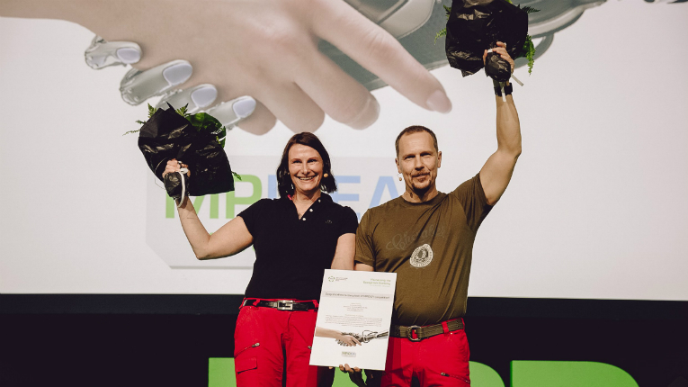 Minna and Pasi Kauppinen have worked in the travel industry for over 30 years. In June, their electric scooter innovation won the Finnish industry's idea competition MPIDEA.
