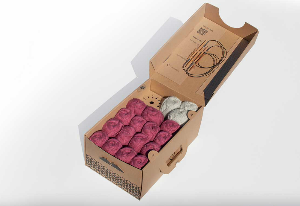 The innovative packaging design 'Wool Locker' from Stora Enso has won the German Packaging Award 2019 in the category Presentation of Goods. Stora Enso's packaging is designed for yarn and knitting equipment and is made from 100 per cent renewable corrugated board. The award is presented by the German Packaging Institute. Stora Enso also won a Scanstar award recently for its sustainable ice cream package from the Scandinavian Packaging Association.