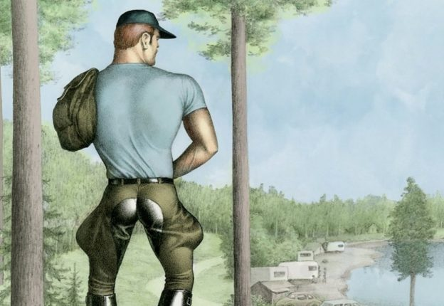 Tom of Finland's life's work will be celebrated in the UK ahead of the artist's centenary in 2020. (Photo: Twitter/Comic Art Festival)