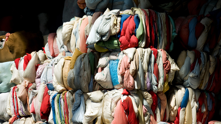 The Relooping Fashion Initiative's goal is to enable recycling of post-consumer textiles and to create new business opportunities.