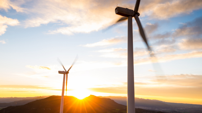 Teraloop stores the power from wind turbines and solar panels and releases it when needed.