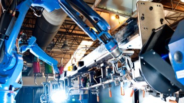VTT's quick-control system shortens the programming time of industrial robots.