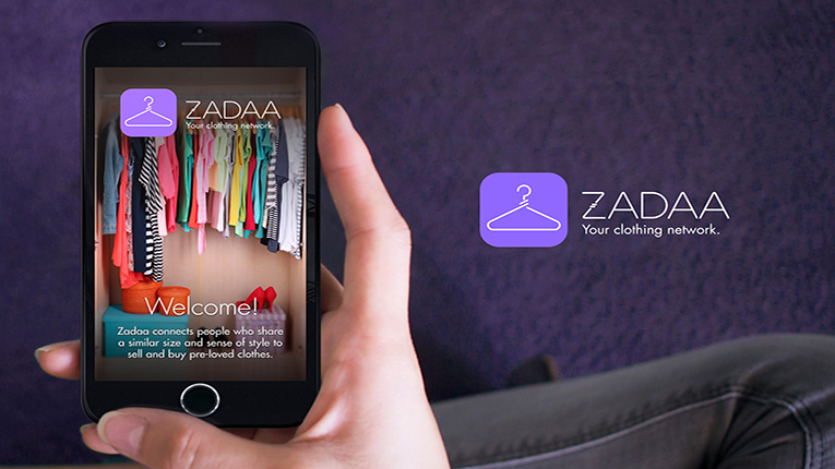 The Zadaa application connects people with a similar size and style.