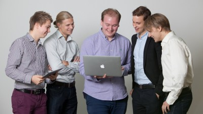 NetMedi was founded in 2012 by a group of software developers, including Henri Virtanen (left), Otto Seiskari, Kaarlo Haikonen, Lauri Sippola and Joel Lehikoinen.