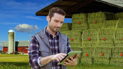 Haytech measures the temperature in order to predict if a barn is likely to start burning.