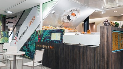 Jungle Juice Bar's next focus is Europe. Spain is just the first step for the company which plans to introduce its toucan logo to the other side of the Atlantic.
