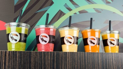 At Jungle Juice Bar fast food means fresh juices and smoothies with superfoods and no added sugar.