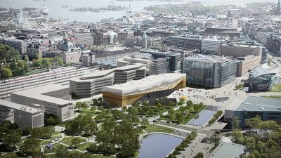 The new Helsinki central library, designed by Finnish Ala Architects, is a masterpiece of timber construction, eco-efficient almost zero-energy building.