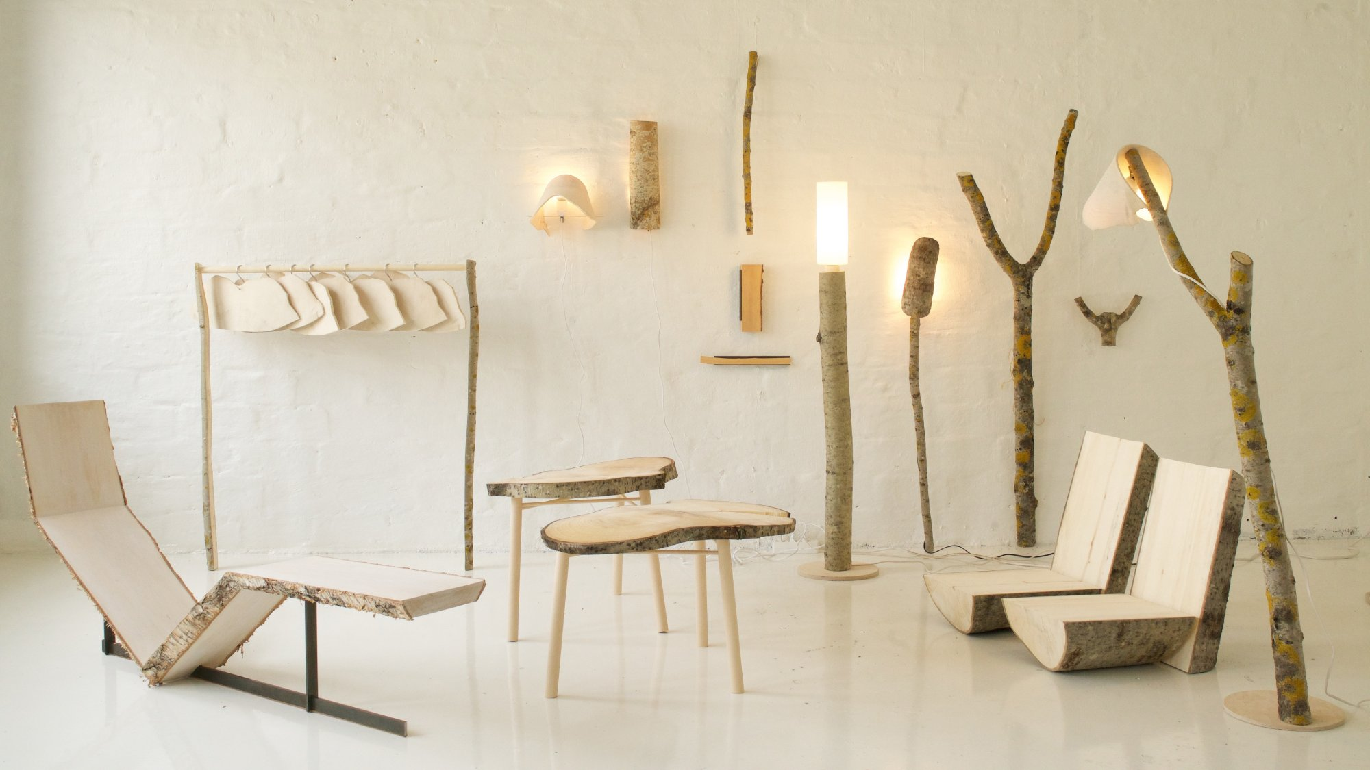 Wooden furniture and design