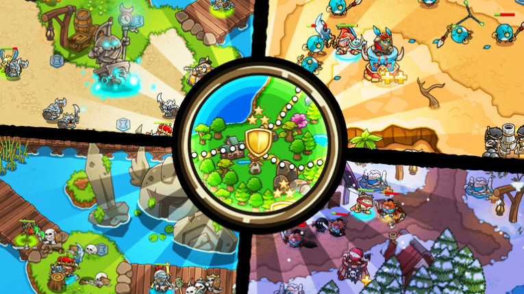 Crazy Kings is the latest title from Finnish mobile games developer Ticbits.