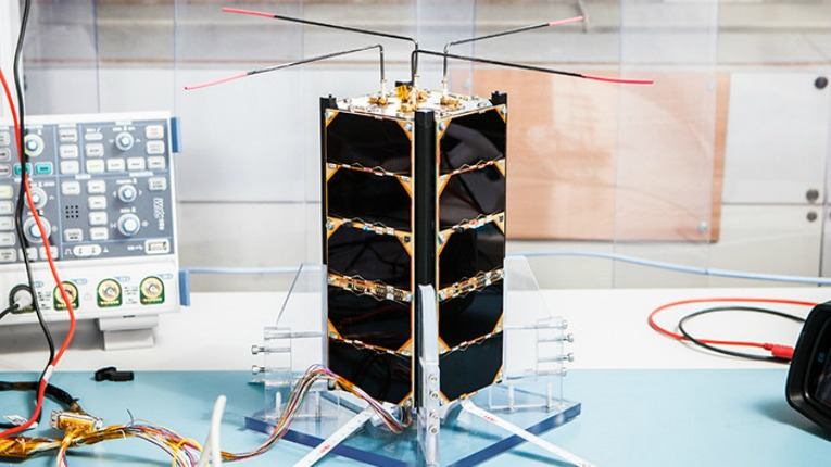 Dozens of students from Aalto University's different departments have participated in the design and construction of the Aalto-2 satellite.