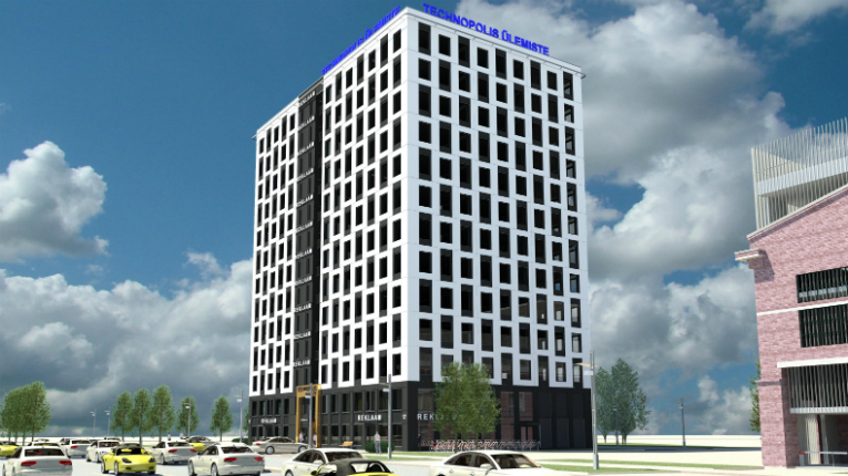 The new facilities of Technopolis will increase the rentable area of the Ulemiste business district to around 82 000 m2.