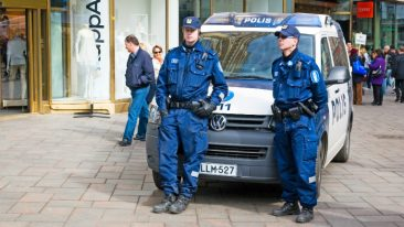 Finland scored the highest in order and security and criminal justice within its region.