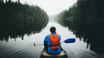 Ponder the silence. Hossa is Finland's newest national park, located in the eastern part of the country.