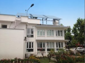 In Nepal, Nocart installed solar modules on the rooftop to charge the battery bank of an international humanitarian organisation.