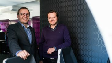 Antti Vilpponen (CEO, left) and Joel Pihlajamaa (CTO) will be guiding UpCloud further abroad.