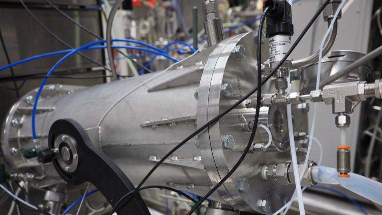 VTT's method uses a gas fermentor to extract protein and raw material for bioplastic from biogas.