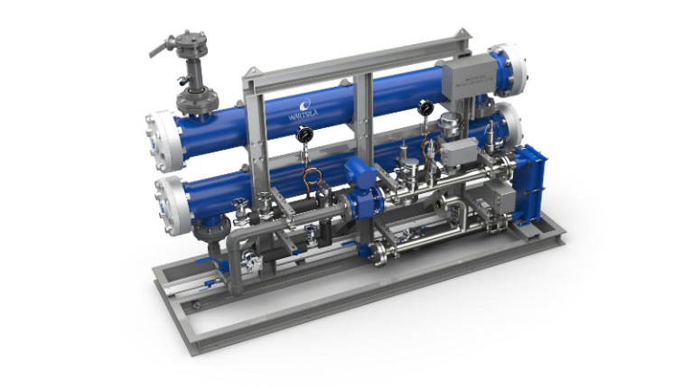 The Wärtsilä Aquarius EC Ballast Water Management System treats ballast water used to stabilise vessels at sea from its harmful ecological effects.