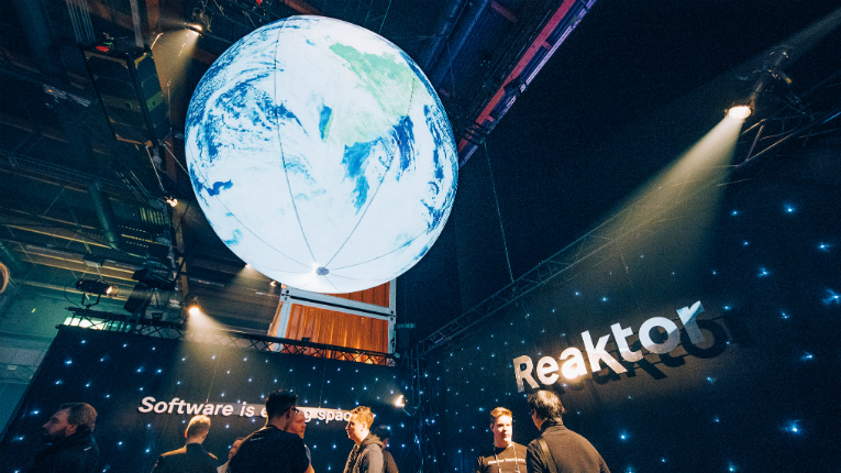 Reaktor's idea for a satellite is truly out of this world.