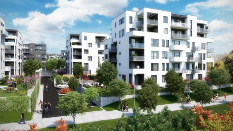 The project is YIT's largest area development project in Prague.