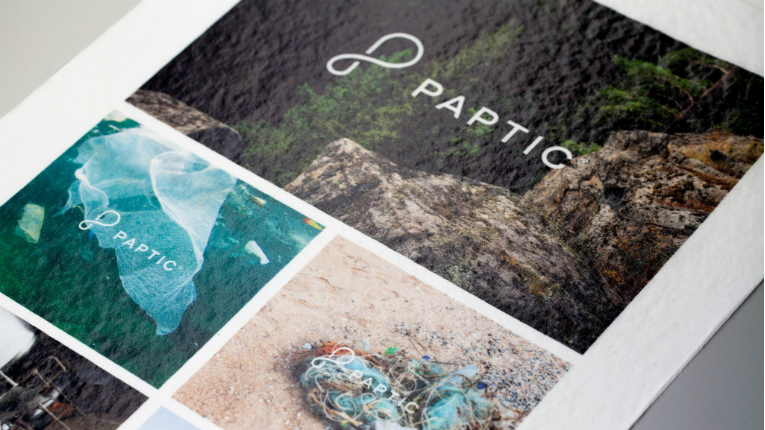 Alongside bags, Paptic has investigated flexible packaging for non-food items such as toys and toiletries; shipping envelopes for e-commerce deliveries; and posters, banners and labels for graphic applications.