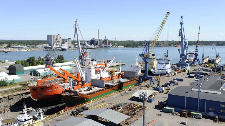 Turku Repair Yard is one of Northern Europe´s leading ship repair facilities, with the largest drydock in the Baltic area.