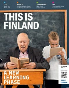The magazine is available online, and hard copies will be distributed through Team Finland networks.