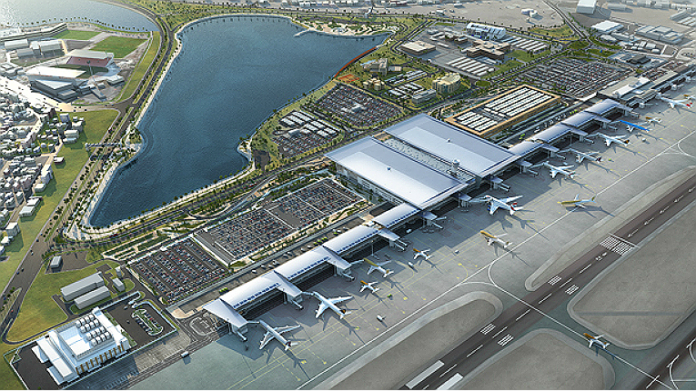 KONE Corporation is a major elevator and escalator supplier for the new passenger terminal building at Bahrain International Airport.