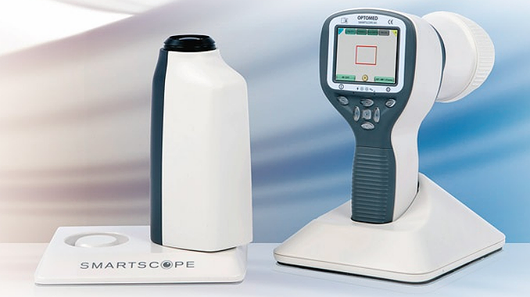 Optomed's key product is Smartscope PRO, a modular hand-held retinal camera for screening and diagnosis of various eye diseases, such as diabetic retinopathy, glaucoma and AMD.