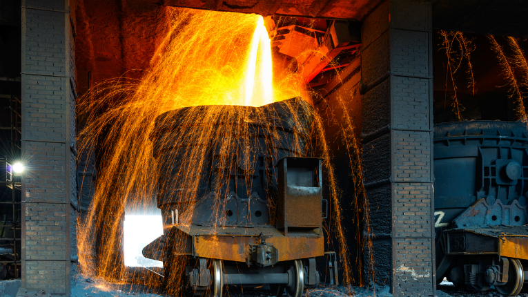 Ecofer takes care of the by-product slag, produced when a desired metal is being separated from the ore in a process called smelting.