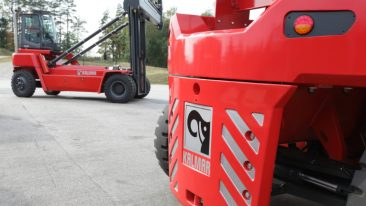 Kalmar's new range of empty container handlers was launched in November.