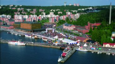The city of Lahti is located about 100 kilometres northeast of Helsinki.