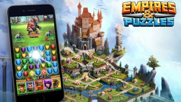 Small Giant Games's latest mobile game Empires & Puzzles was launched only last week.