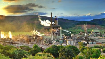 The Sappi Ngodwana pulp mill in South Africa where Valmet will supply a new evaporation line.