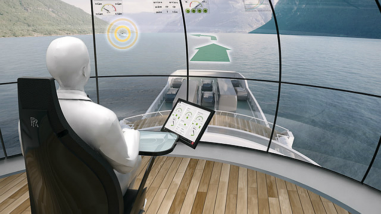 Rolls-Royce's land-based control centre concept seeks to enable smooth sailing for remote and autonomous shipping.