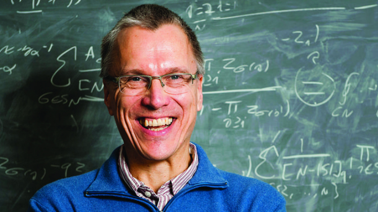 Kupiainen's research topic, quantum field theory, is used to study a vast variety of complex phenomena.