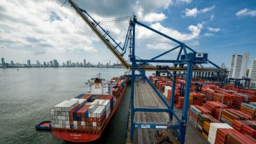 Kalmar will deliver ship-to-shore (STS) cranes specifically designed for Rotterdam Short Sea Terminal short sea operations.