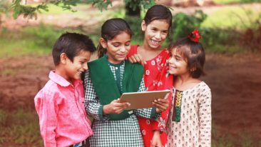 The e-learning market in India is growing fast and is estimated to be worth around three billion US dollars.