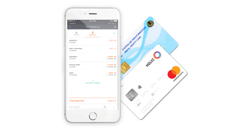 Holvi provides companies with a range of business services such as an online sales platform, an invoicing facility and a cashflow tracker.