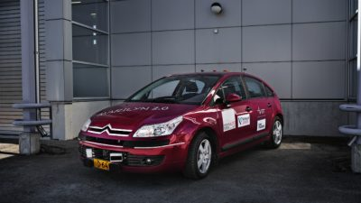 VTT's Marilyn is the first automated car to receive a road traffic testing permit in Finland.
