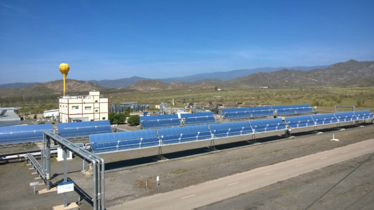 The project visited internationally renowned commercial and test plants, including The Puerto Errado plant in Calasparra, Spain (pictured).