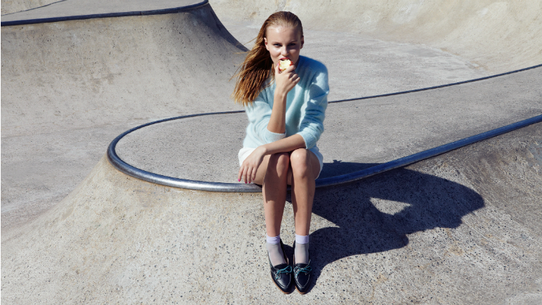 Every shoe as well as every collection has a story of where Terhi Pölkki was in life at the time of the design process.