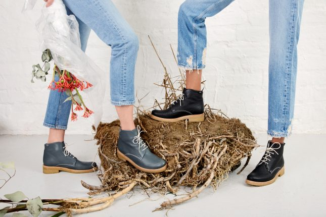 These shoes were made for walking: for Terhi Pölkki, comfort and convenience matter.