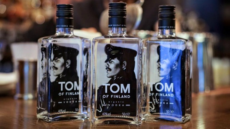 Thus far Tom of Finland Vodka has only been available in Finland.
