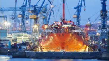 Telesilta's expertise is in the shipping industry.