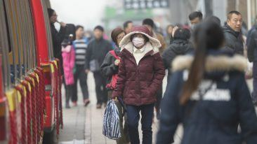 Air pollution is at dangerous levels in Beijing.
