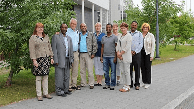 The JAMK project in Ethiopia kicks off with the project partners meeting up in Jyväskylä between 23–28 August.