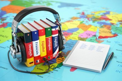 Sanako tools can be used to learn a lot of different languages.