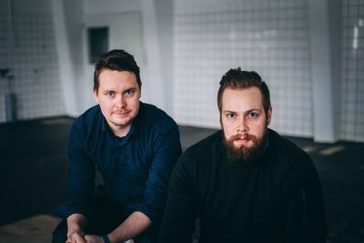 Sakari Arffman (left) and Jussi Patopuro, two entrepreneurs based in Oulu, are driven to make products that they themselves would want to use.